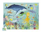 """Пазл в цилиндре """"36 Животных, Животные океана"""", 100 деталей"""