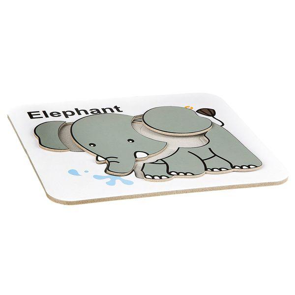 "Водная раскраска-пазл ""Слон"" многоразовая по цене 120.0 ..."