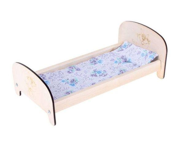 Кроватка для кукол классическая №2