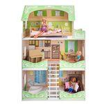 """Кукольный домик """"Луиза Виф"""" (с мебелью)"""