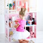 """Кукольный домик """"Поместье Монтевиль"""" (с мебелью)"""