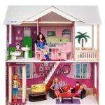 """Кукольный домик """"Сицилия"""" (с мебелью)"""