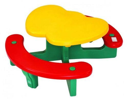"""Столик с лавочками """"Яблочко"""""""