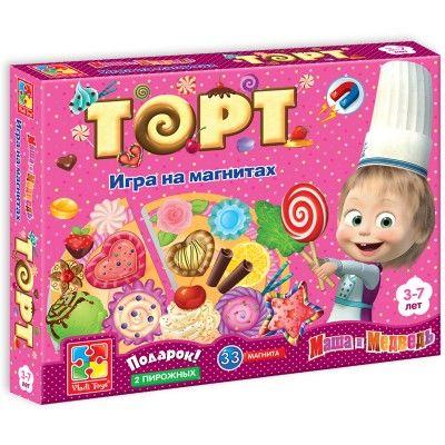 """Игра магнитная Юный повар """"Торт"""""""