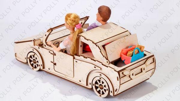 Чудо-автомобиль для кукол
