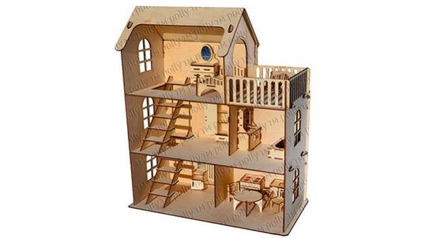 Кукольный домик «Эко-дом»
