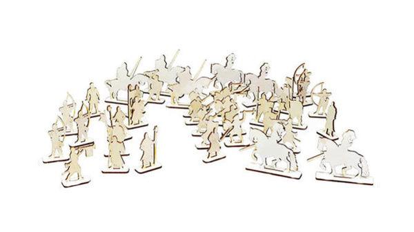 Чудо-рыцари (деревянный набор)