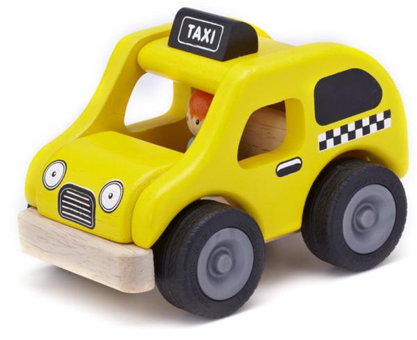 """Деревянная машинка """"Такси"""""""
