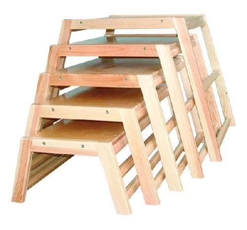 Комплект скамеек-трапеций (5 шт)