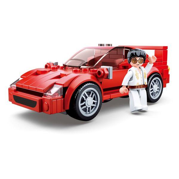 "Конструктор ""Транспорт: Суперкар"" (163 детали)"