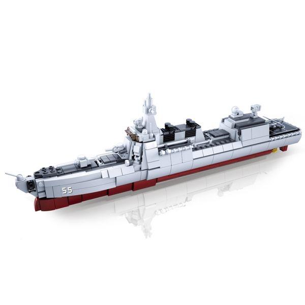 """Конструктор """"Флот: Миноносец"""" (618 деталей)"""