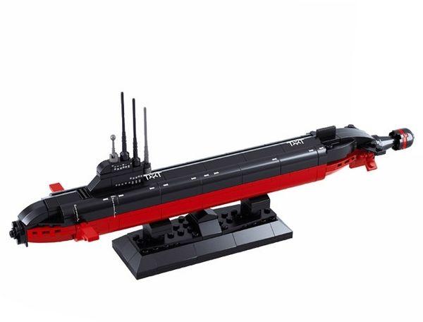 """Конструктор """"Атомная подводная лодка"""" (193 детали)"""