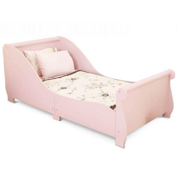 """Детская кровать """"Sleigh"""", розовая"""