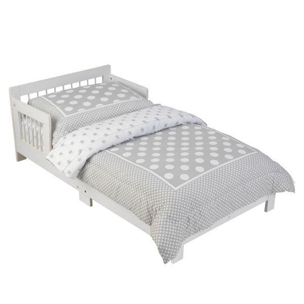 Классическая кровать для детей, белая