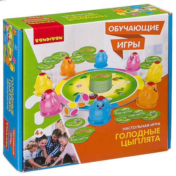 """Настольная игра """"Голодные цыплята"""""""