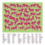 """Пазл """"36 Животных, """"Лошади"""", 100 деталей"""
