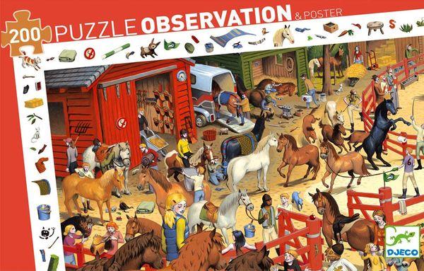 """Пазл-игра на наблюдательность """"Скачки"""", 200 деталей"""