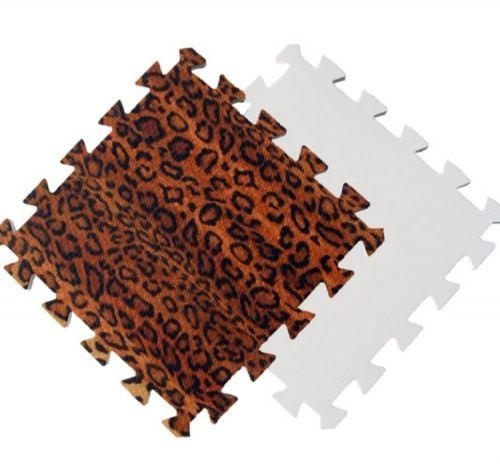 """Модульный мягкий пол """"Леопард"""" 30х30х1 см"""