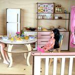 """Двухэтажный кукольный домик """"Мелодия"""""""