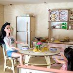 """Трехэтажный кукольный домик """"Рапсодия"""""""