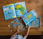 """Карта-пазл """"Мой мир"""" 260 деталей"""