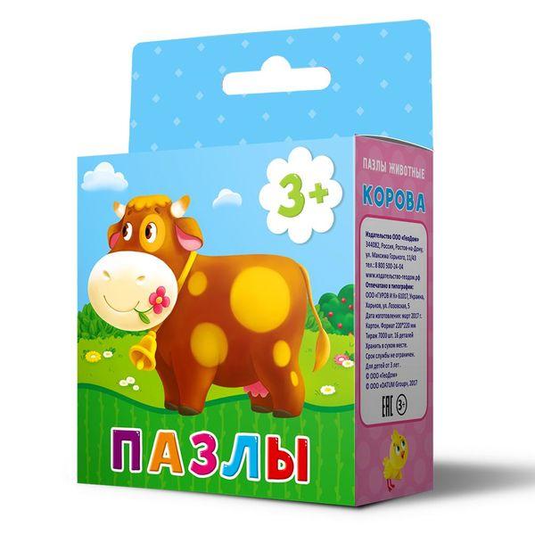 """Пазл для малышей """"Корова"""", 16 деталей"""