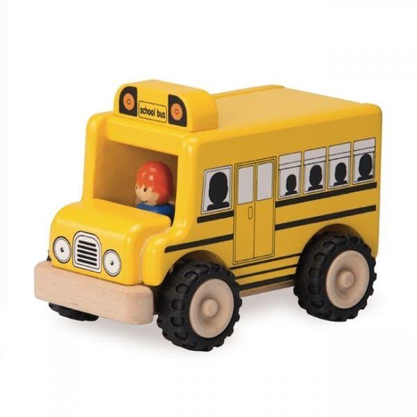"""Деревянная игрушка """"Школьный автобус"""""""