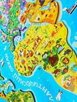 Пазл «Магнитная карта Мира», 92 детали