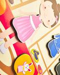 Магнитная игра-одевашка «Профессии» Девочка