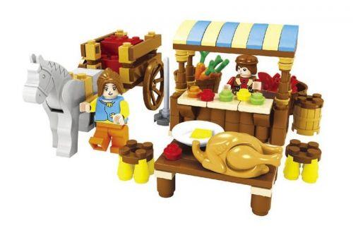 """Конструктор """"Ферма: Продажа продуктов"""", 147 деталей"""