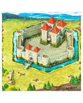 Двухслойный магнитный конструктор «Рыцарский замок»