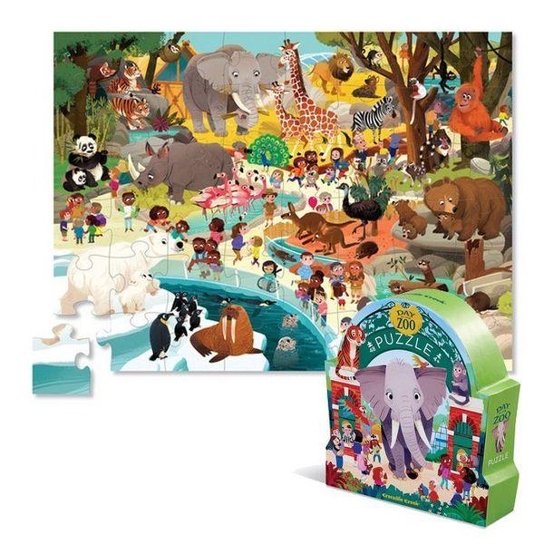 Пазл «День в музее: Зоопарк», 48 деталей