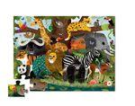 Пазл «Друзья джунглей», 36 деталей