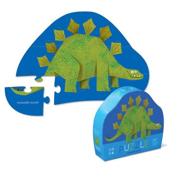 Пазл «Динозавр», 12 деталей