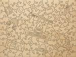 Деревянный пазл «Будапешт», 108 деталей