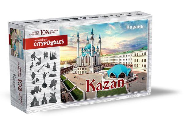 Деревянный пазл «Казань», 103 детали
