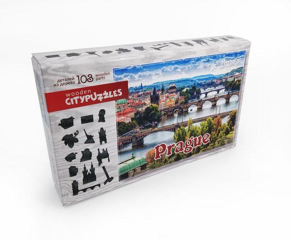 Деревянный пазл «Прага», 103 детали
