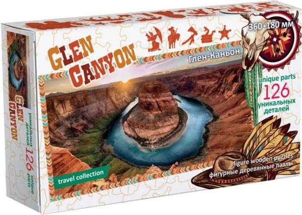 Деревянный пазл «Glen Canyon», 126 деталей