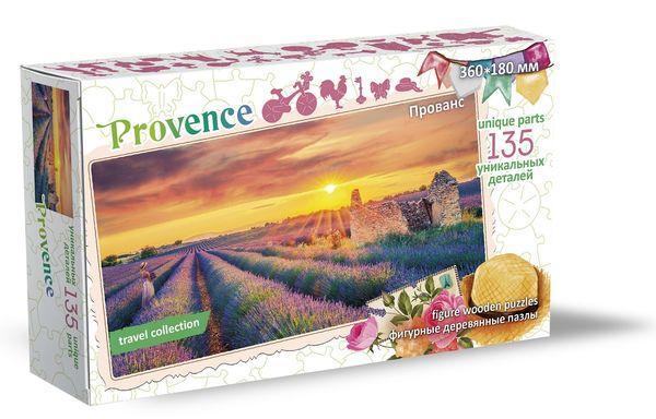 Деревянный пазл «Прованс, Франция», 135 деталей