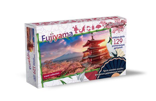 Деревянный пазл «Фудзияма, Япония», 129 деталей