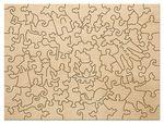 Деревянный пазл «Буратино», 78 деталей
