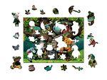 Деревянный пазл «Винни Пух», 80 деталей