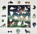 Деревянный пазл «Путешествие вокруг света», 52 детали