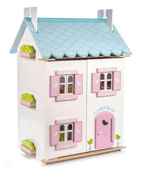 """Кукольный домик с мебелью """"Синяя птица"""""""