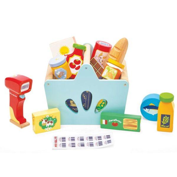"""Игровой набор """"Корзина с продуктами и сканер"""""""