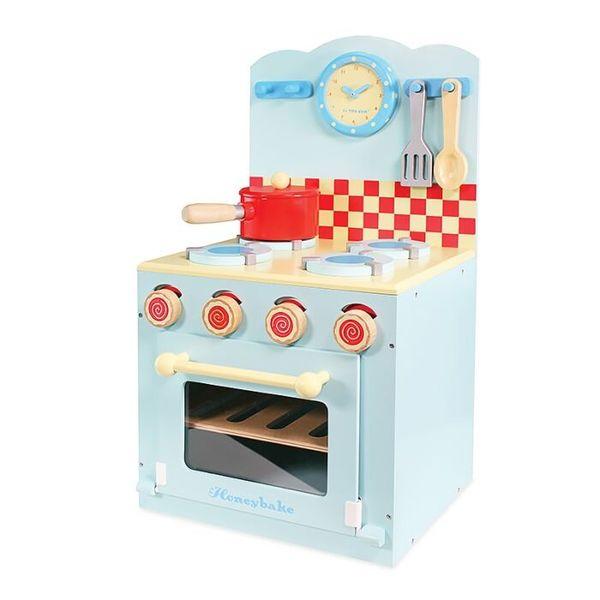 """Игровой набор """"Кухонная плита"""" с аксессуарами (голубая)"""