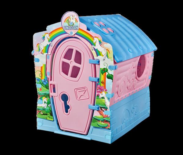 Домик игровой (розовый/голубой)