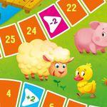 """Игра-ходилка для малышей """"На ферме"""""""