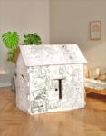 Игровой картонный домик