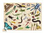 """Пазл в цилиндре """"36 Животных, Насекомые"""", 100 деталей"""